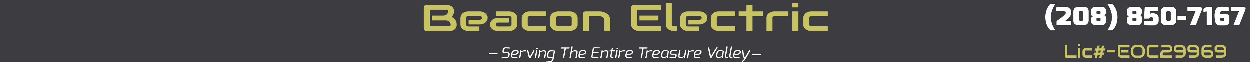 Beacon Electric Banner 2